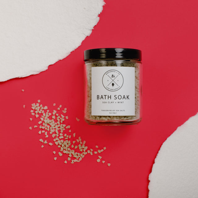 Bath Soak - Sea Clay + Mint