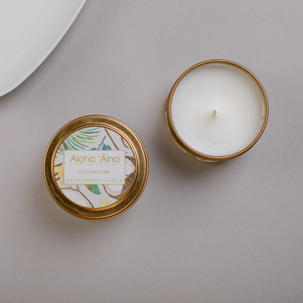 Coconut Milk - Hawaiian Aromatherapy Candle