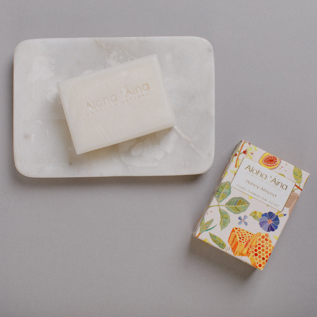Hawaiian Aromatherapy Pure Soap – Honey Almond