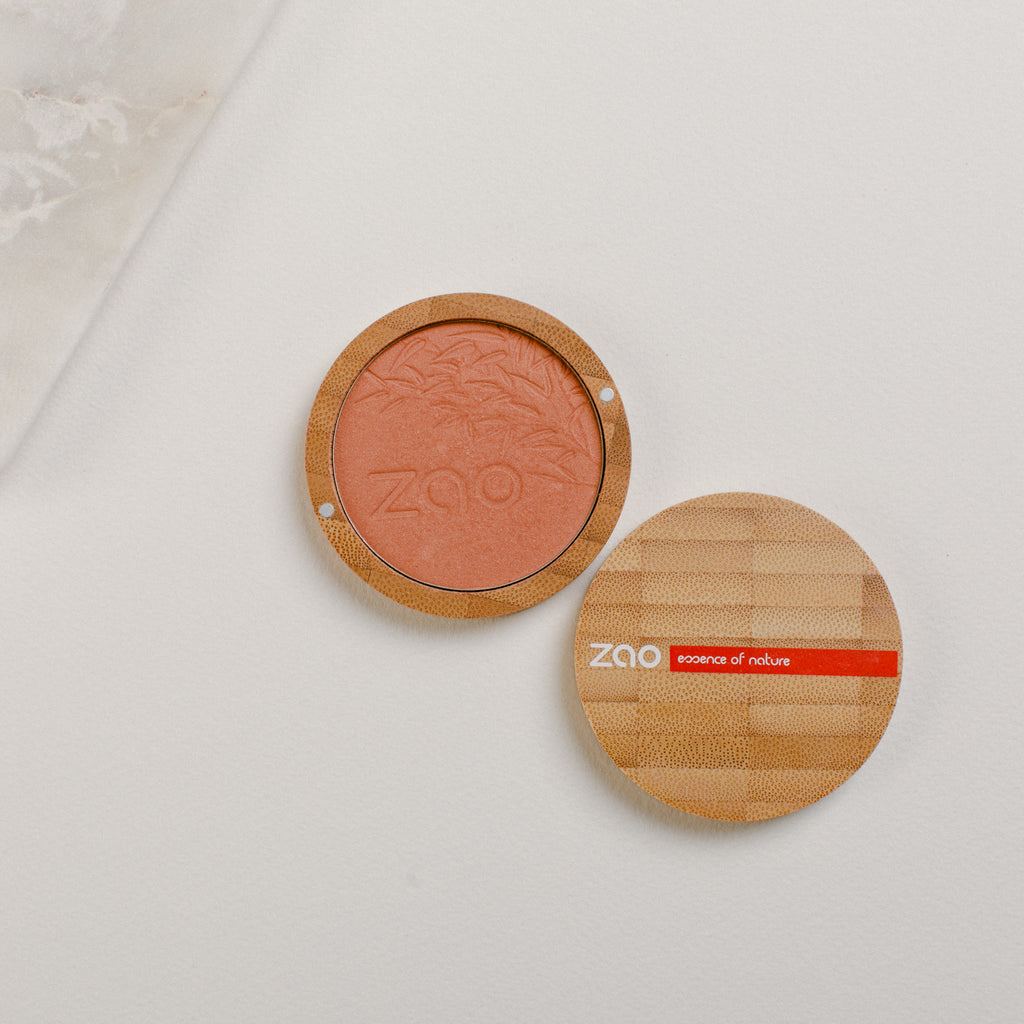 Organic Compact Blush - Golden Coral 325