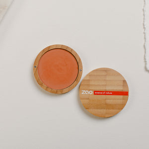 Organic Compact Blush - Brick Red 324