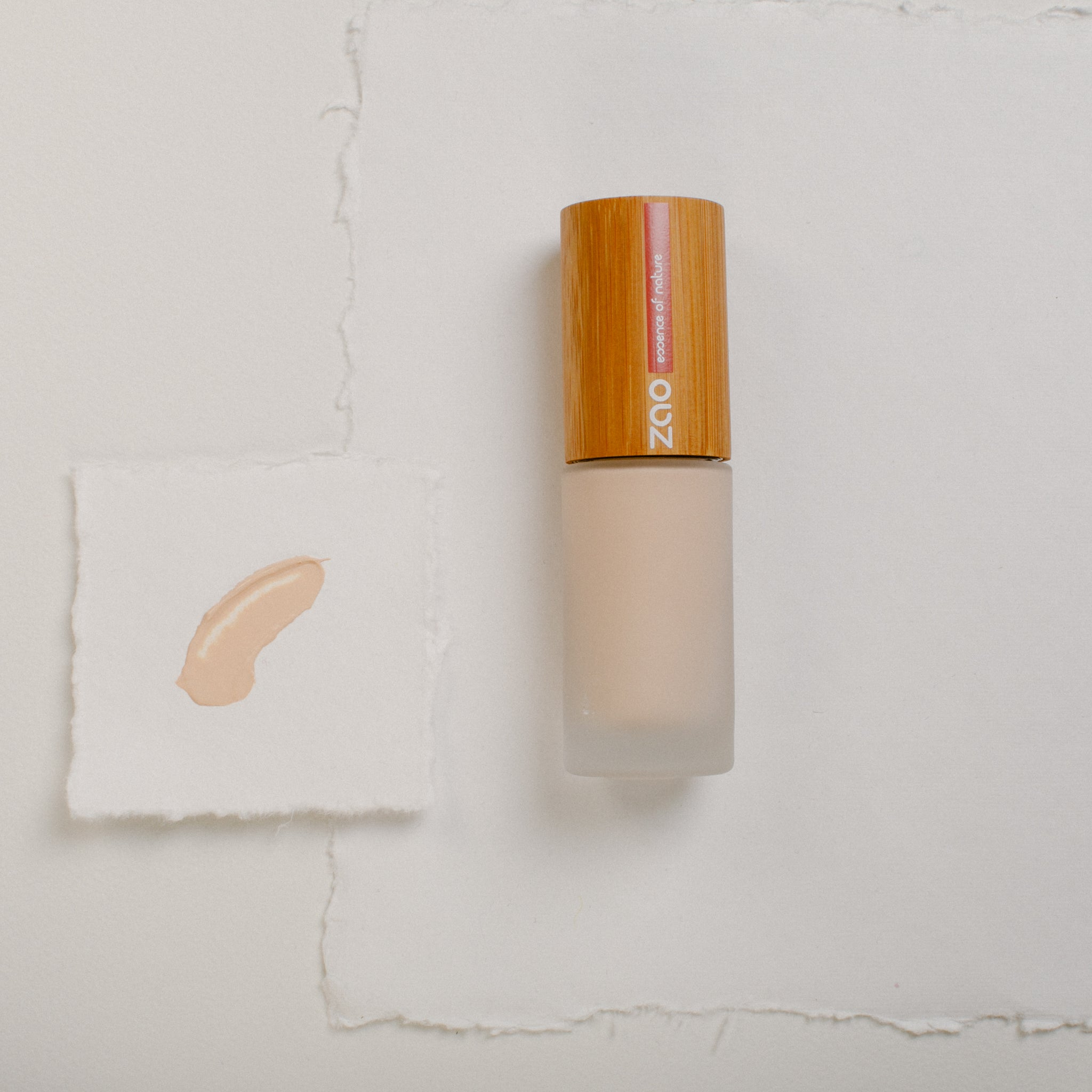 Organic Silk Foundation - Light Sand 711