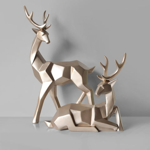 Image of 3D Lucky Deer Ornaments