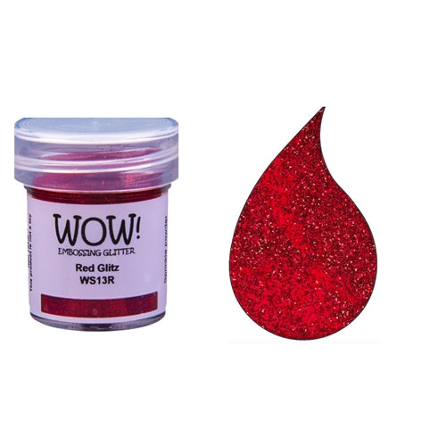 WOW! Red Glitz Embossing Powder