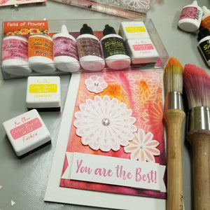 Color Burst Try Me Kit Field of Flowers