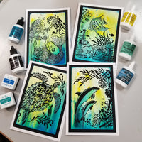 "The Crafter's Workshop Stencil Bundle ""Under the Sea"""