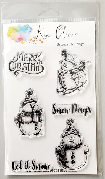 Clear Stamps Snowy Holidays