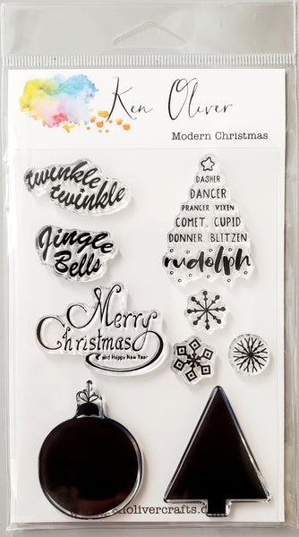 Clear Stamps Modern Christmas