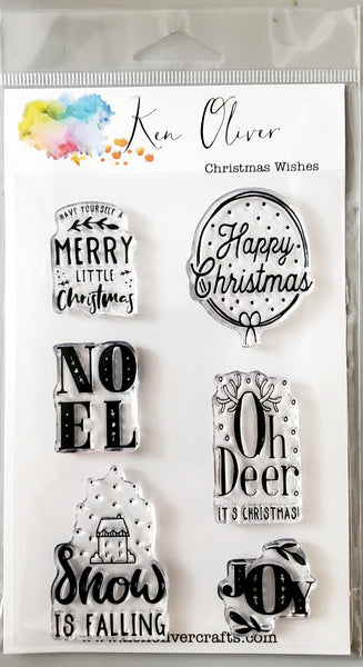 Clear Stamp Christmas Wishes