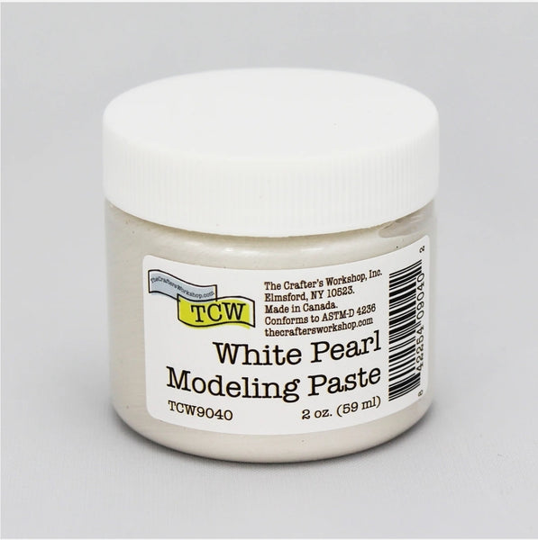 The Crafter's Workshop White Pearl Paste 2 oz.
