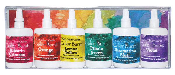 Color Burst 6-Pack Brights Assortment