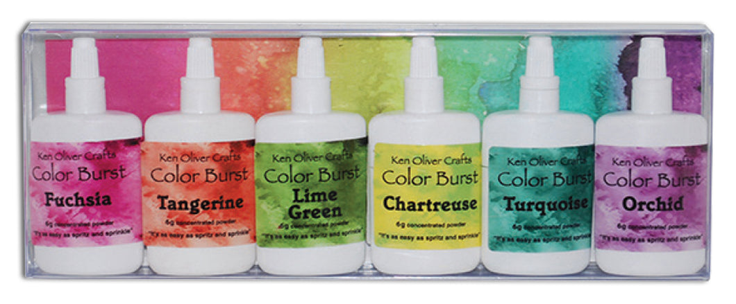 Color Burst 6-Pack Caribbean Brights