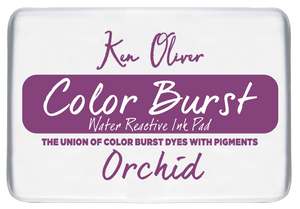 Color Burst Ink Pad-  Orchid