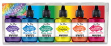 Load image into Gallery viewer, Ken Oliver Liquid Watercolor Brights 6 pack