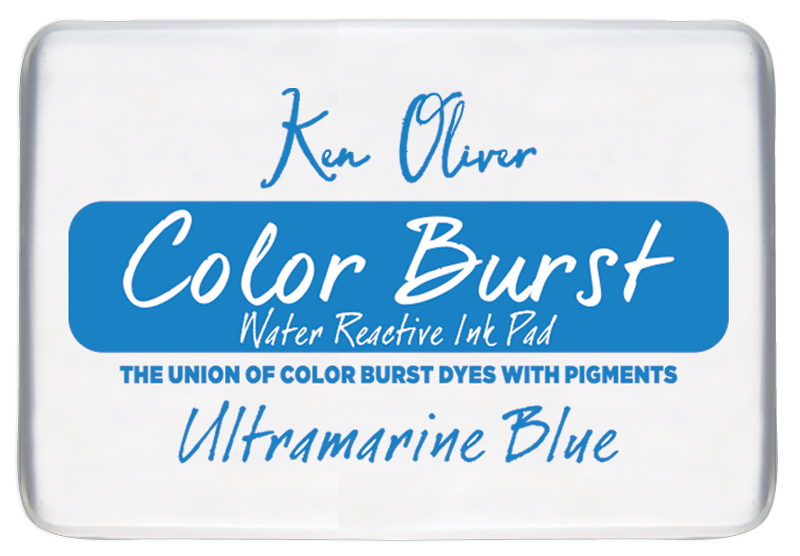 Color Burst Ink Pad- Ultramarine Blue