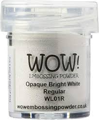 Embossing Powder WOW! Opaque Bright White