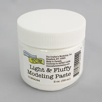 The Crafter's Workshop Light & Fluffy Modeling Paste