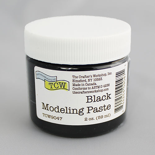 The Crafter's Workshop Black Modeling Paste