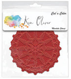 Rubber Stamp and Die Bundle Mandala