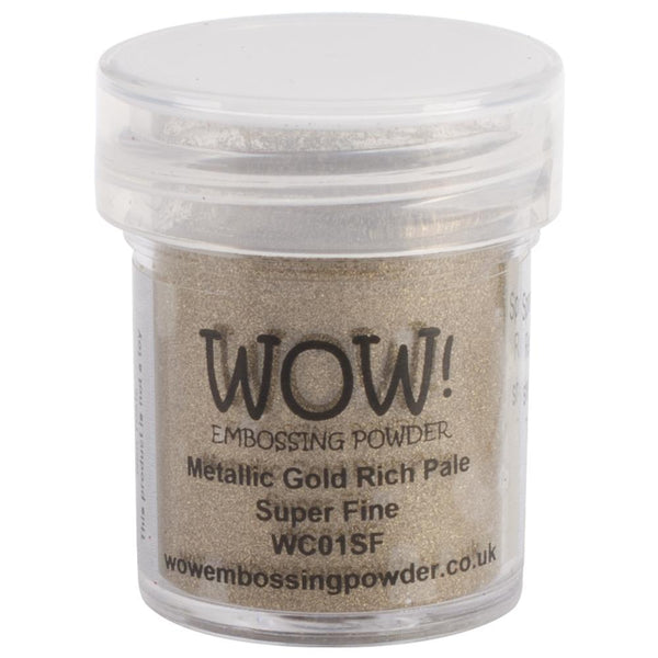 WOW! Metallic Gold Rich Pale Embossing Powder