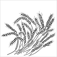 The Crafters Workshop Stencil  Wheat Stalks