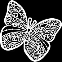 Sunny Butterfly Stencil from The Crafter's Workshop