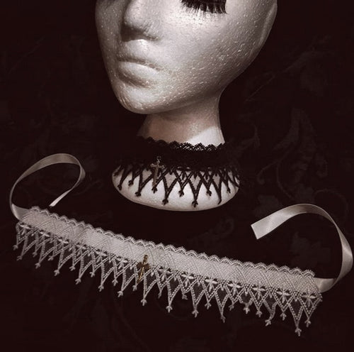 Cathedral Lace Choker