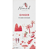 Nomad Dark Chocolate Bar with Ginger - 72% Dark Chocolate (Pack of 3) 85g