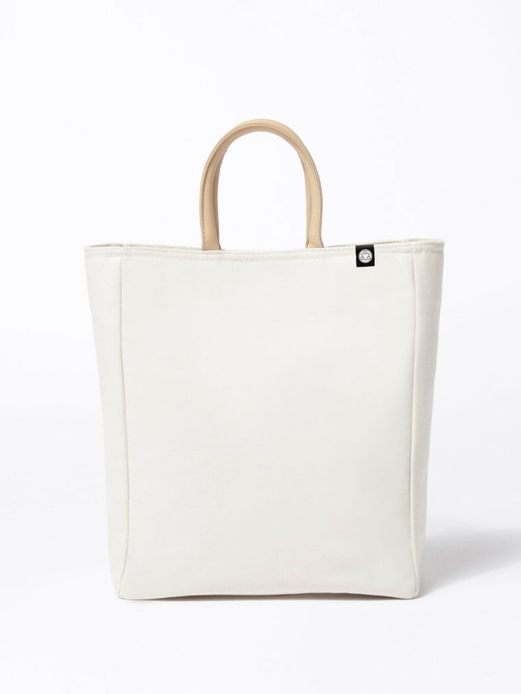 CANVAS TOTE, BEIGE