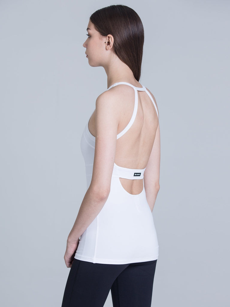 TENDENCY TANK, WHITE