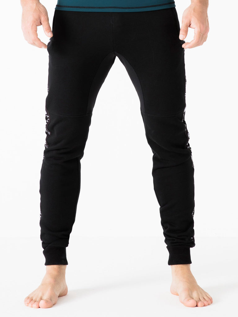 MEN'S LOGO PANTS,BLACK