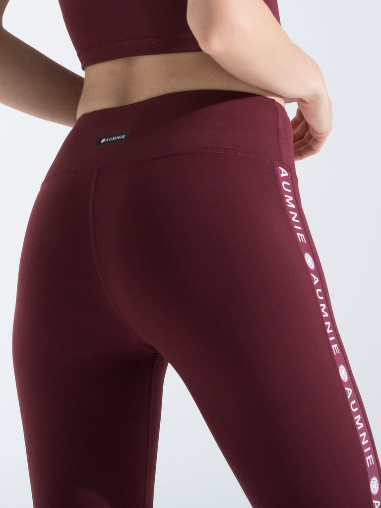 LOGO PANTS, BORDEAUX