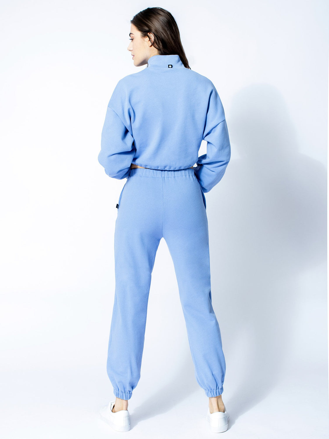 COTTON SWEATSUIT SET, HELIO