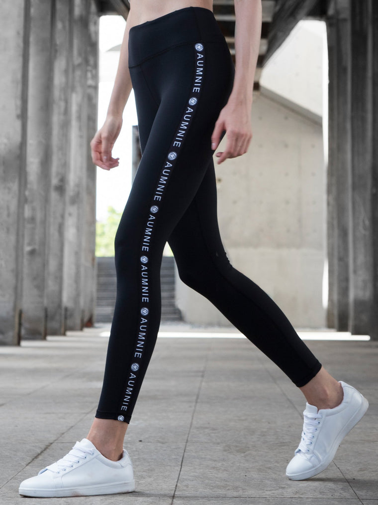 LOGO PANTS, BLACK
