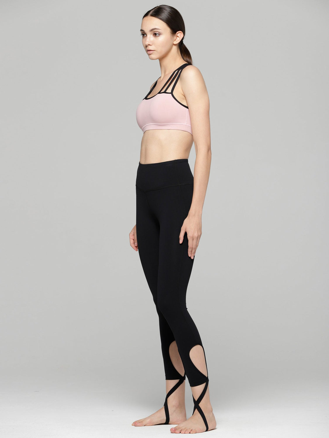 EMBRACE BRA, BLUSH/BLACK