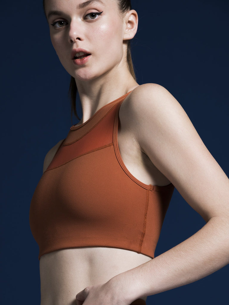 MUSE BRA, MAPLE/MAPLE MESH