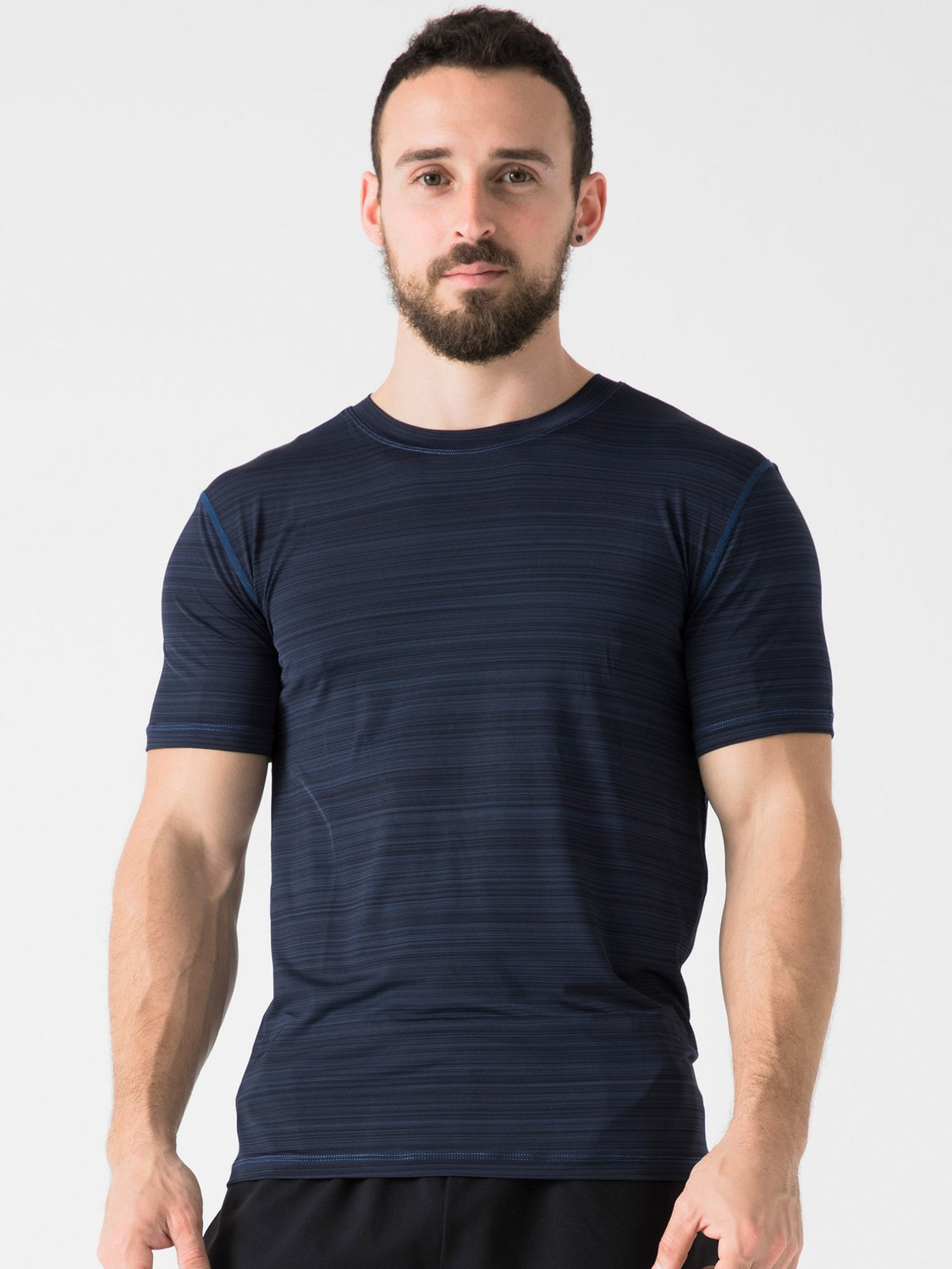 ATHLETE TEE, NAVY