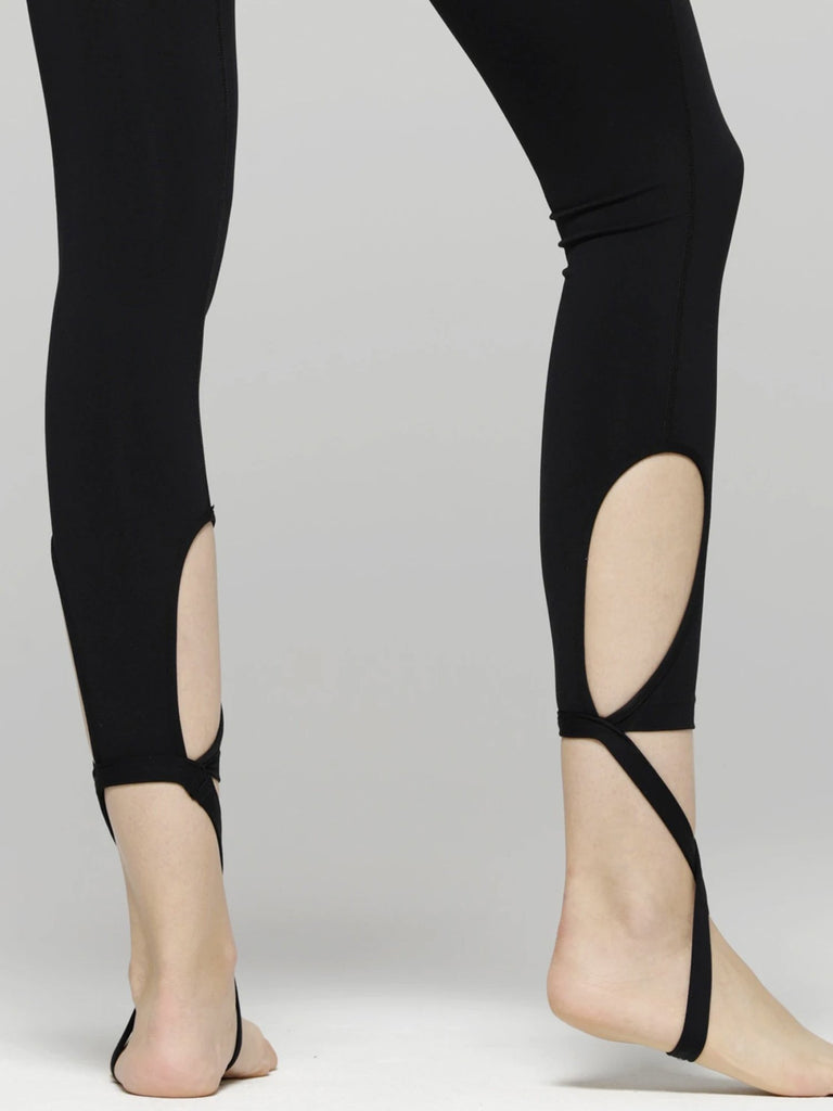 DEVI ANKLE CROPS 2.0, BLACK