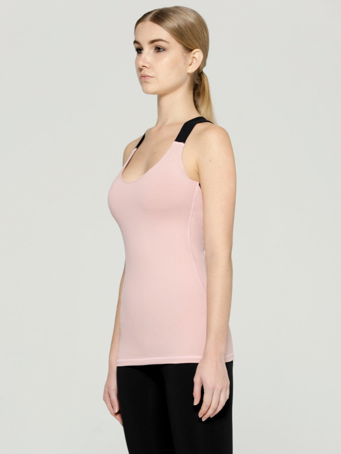 PROJECTION TANK 2.0, BLUSH/BLACK