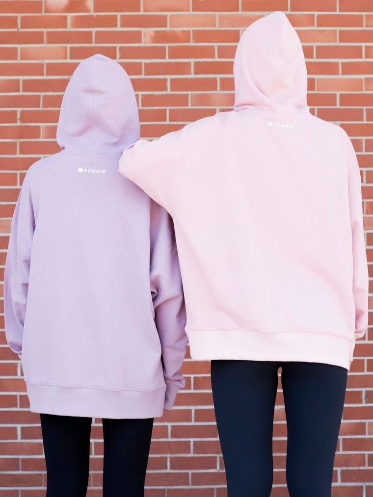 FRENCH YOGA HOODIE, PINK
