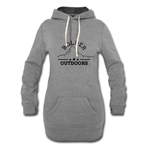 Women's Grey Hoodie Dress - heather gray