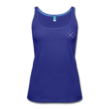 Load image into Gallery viewer, BOLDER - Women's TANK - royal blue
