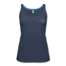 Load image into Gallery viewer, BOLDER - Women's TANK - navy