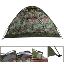 Load image into Gallery viewer, BOLDER - Camo 2-Person WigWam Tent