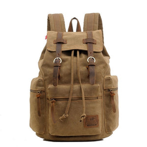 BOLDER - Canvas Travel Backpack