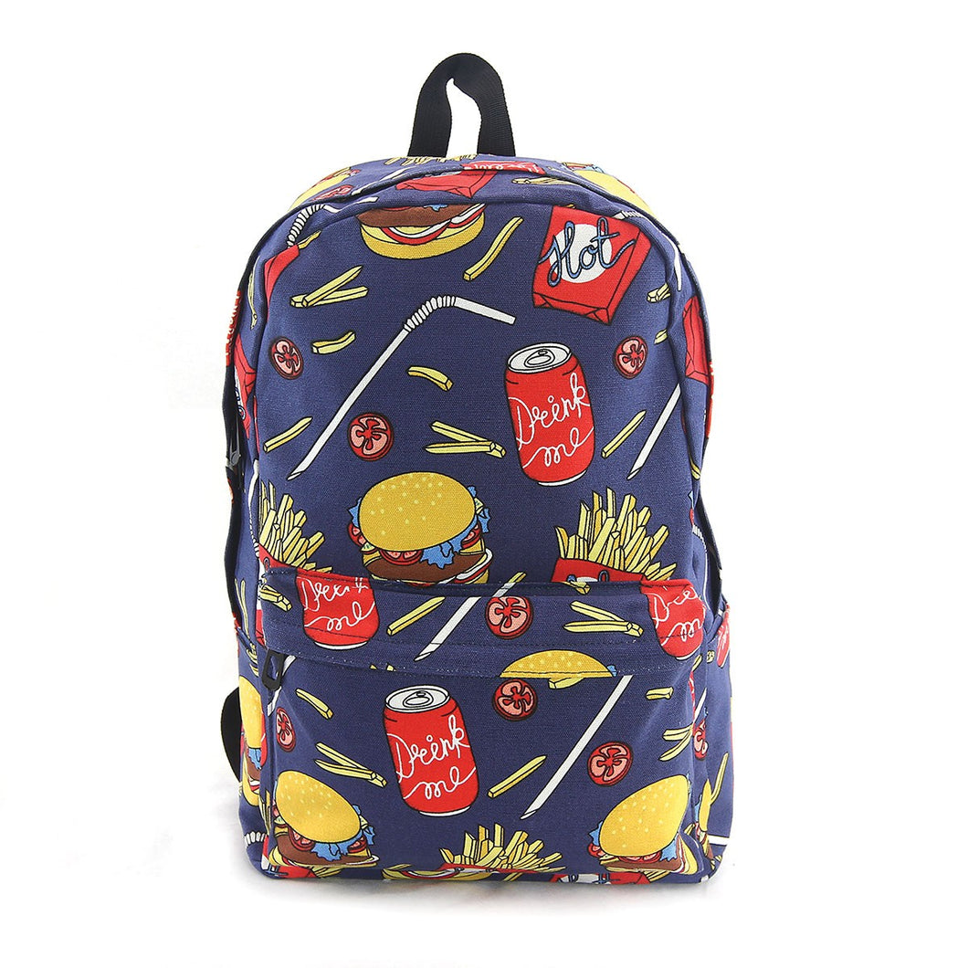 BOLDER - Hamburger Canvas Backpack