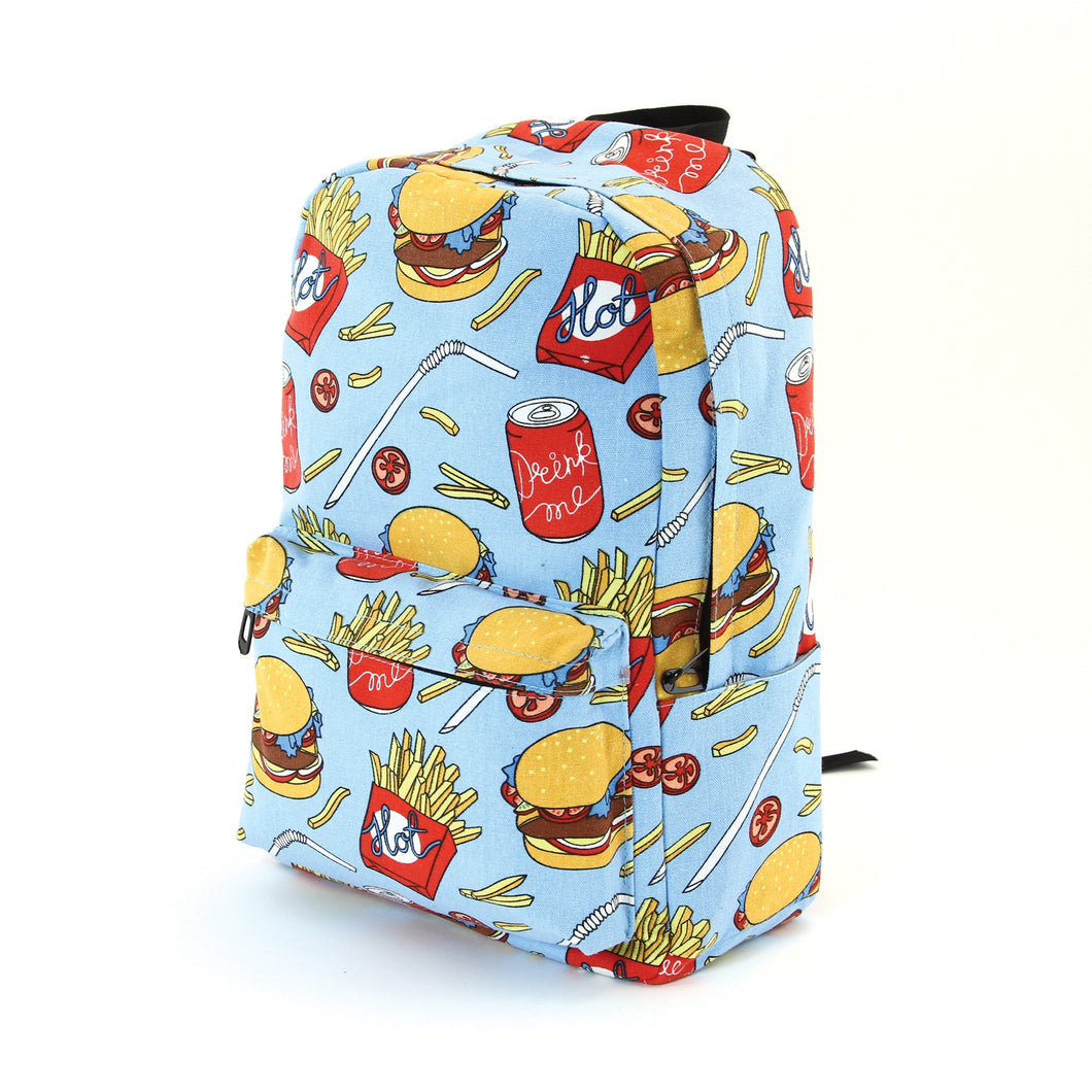BOLDER - Junk Food Canvas Backpack