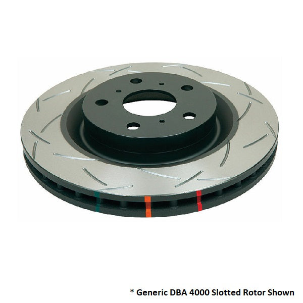 DBA 4000 T3 Slotted - Nissan 200SX / Silvia Rotors (Rear Pair) DBA4906S