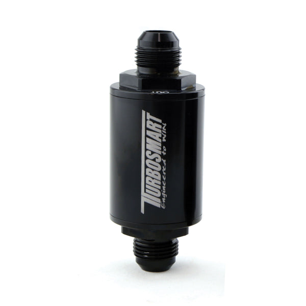 Turbosmart Billet 10µm (micron) -10AN Fuel Filter - Black Finish