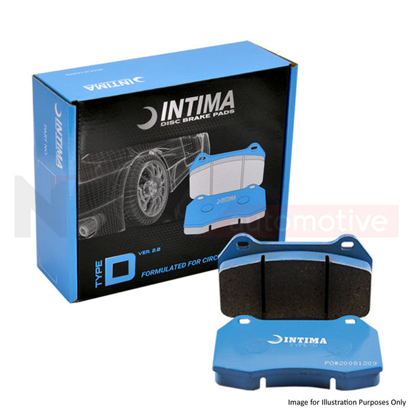 Intima Type-D - Mitsubishi Lancer Evo 5 to 9 w/ Brembo Brake Pads (Rear)